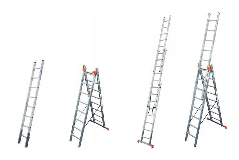 Лестницы алюминиевые профессиональные от производителя