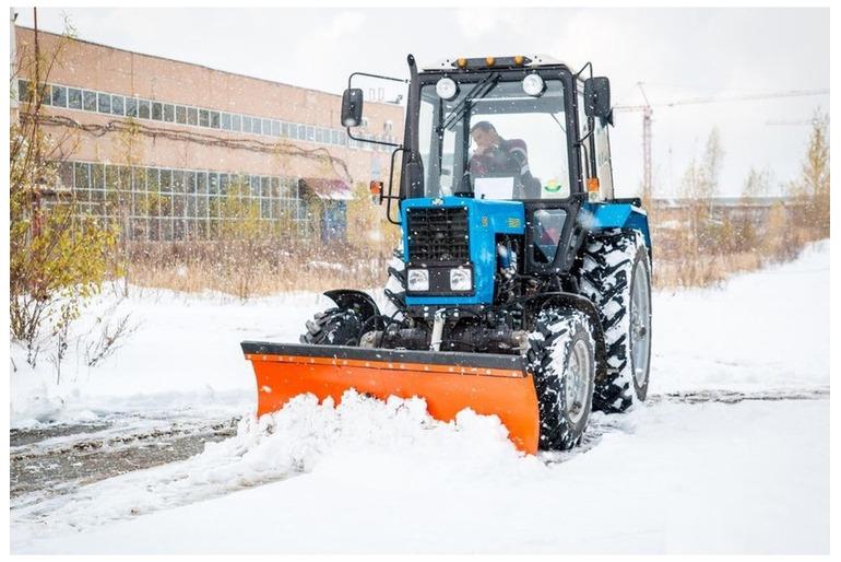 Услуги аренда трактор МТЗ для чистки от снега Сергиев Посад, Березняки