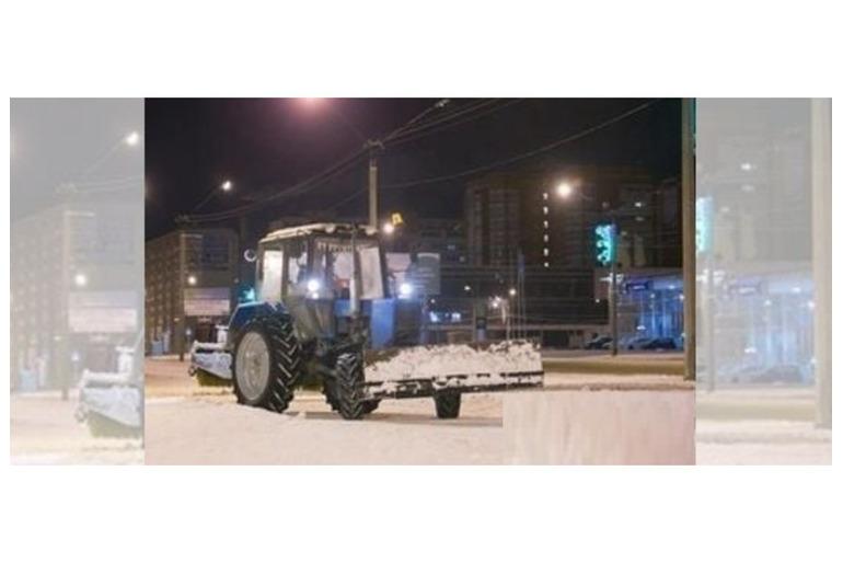 Услуги аренда тактор МТЗ для чистки снега Химки Зелегоград