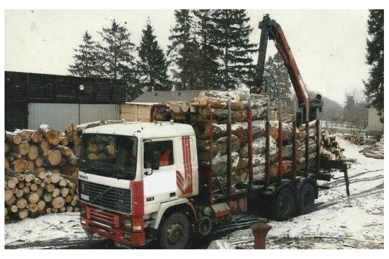 Спецтехника услуги лесовоза в Рамони