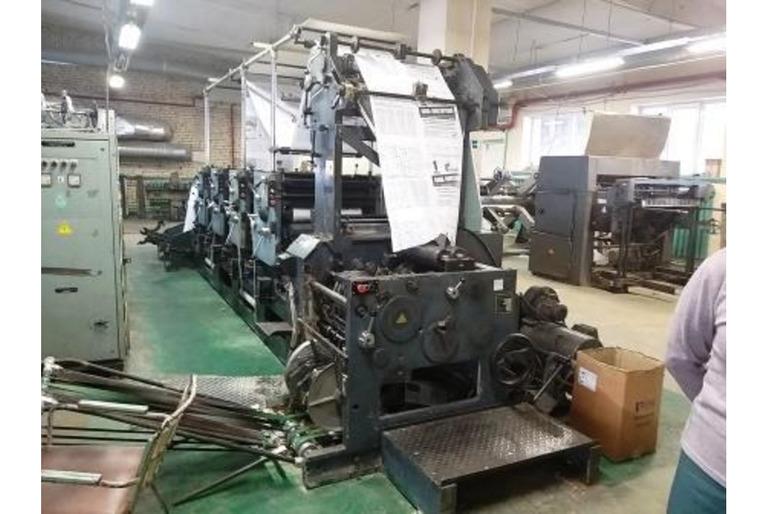 Ролевая газетная машина MARK-6210
